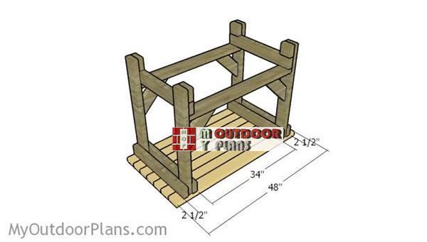Fitting-the-top-slats