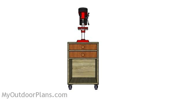 Free Drill Press Stand Plans