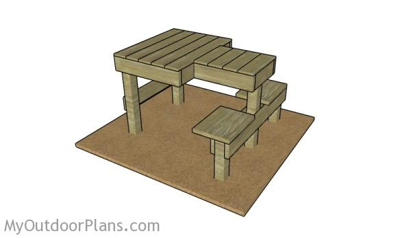 Free Shooting Bench Plans | MyOutdoorPlans | Free Woodworking Plans ...