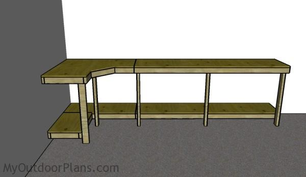 Garage Workbench Plans MyOutdoorPlans – Plans For Garage Workbench
