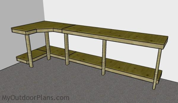 Garage Workbench Plans | MyOutdoorPlans | Free Woodworking Plans and ...