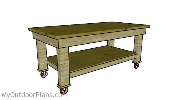 Workbench Plans | MyOutdoorPlans | Free Woodworking Plans and Projects ...