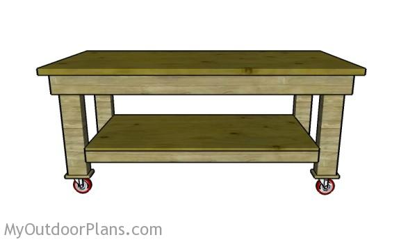 Heavy dutty assembling table plans