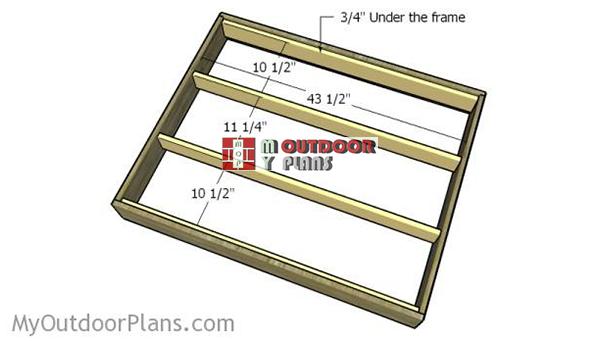 Lower-shelf-supports