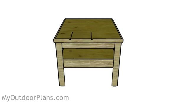Outfeed Table Plans free