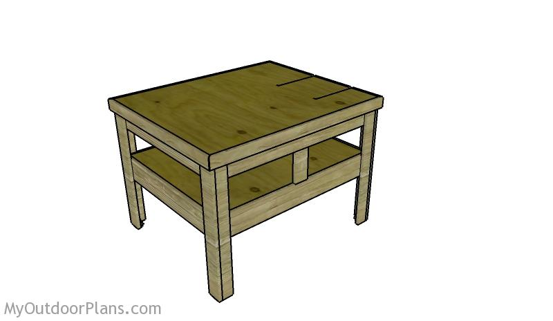 Groovy Outfeed Table Plans Myoutdoorplans Free Woodworking Home Interior And Landscaping Oversignezvosmurscom
