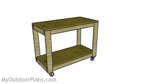 Portable Workbench Plans | MyOutdoorPlans | Free Woodworking Plans and ...