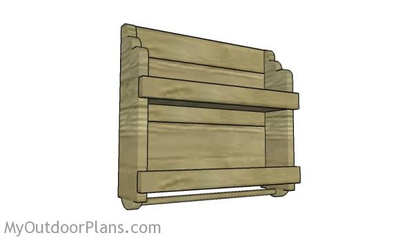 Do It Yourself Home Design: Wooden Spice Rack Plans