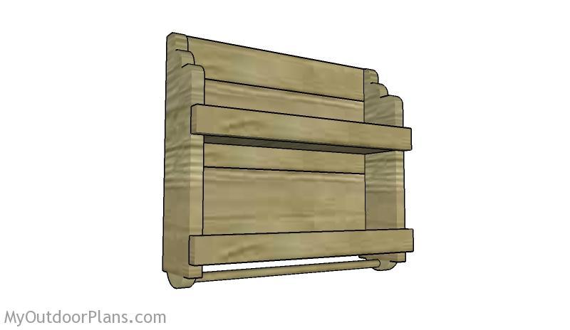 Wooden Spice Rack Plans