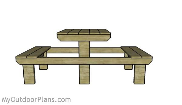Two person picnic table plans