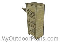 Vegetable cupboard plans