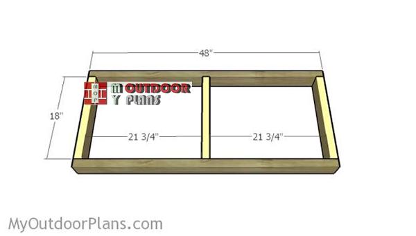 assembling-the-frames-for-the-worktable