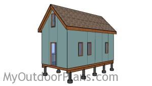 12x24 Tiny House with Loft Plans