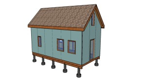 12×24 Tiny House With Loft Plans
