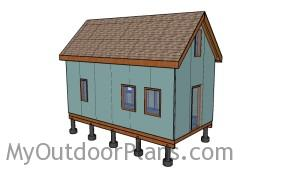 12x24 Tiny House with Loft Plans