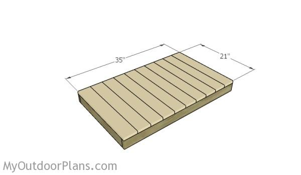 Storage rack plans myoutdoorplans free woodworking for Attaching shelves to plastic shed