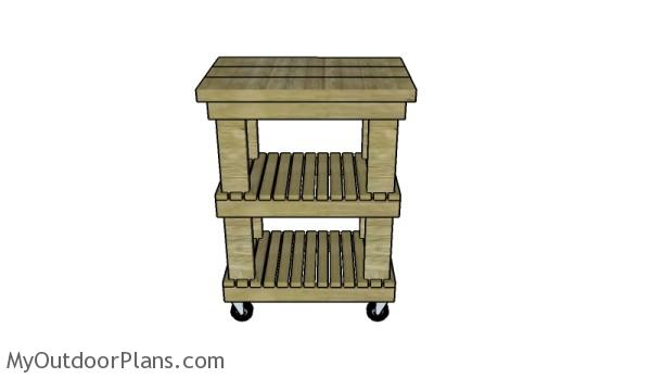 butcher block table plans myoutdoorplans free