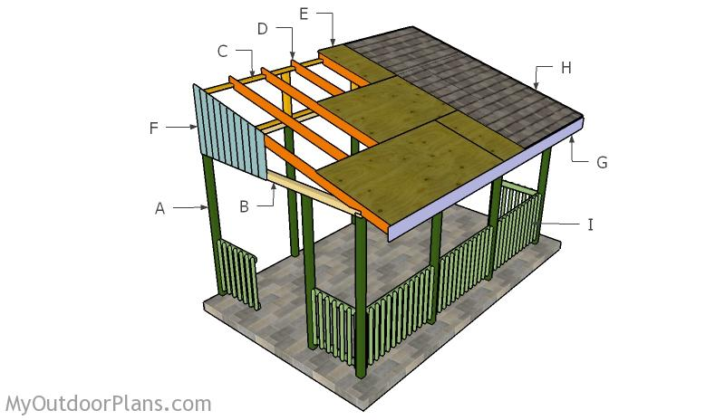 Simple Gazebo Railings Plans