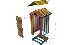 How To Build a Smokehouse Roof