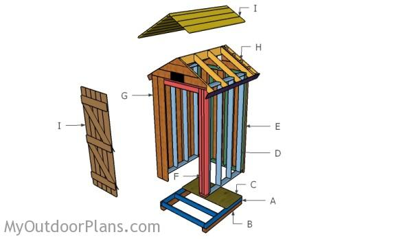 Building a meat smokehouse