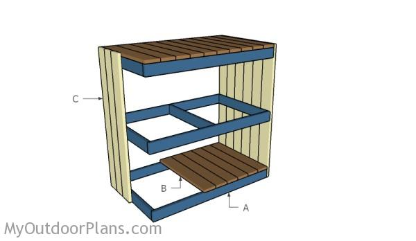 Building a storage rack