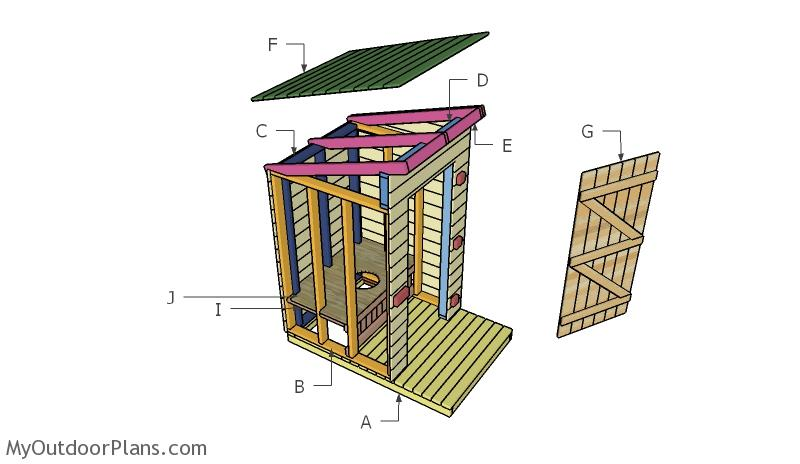 Outhouse Roof Plans