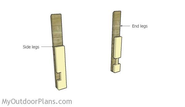 Waist High Raised Garden Bed Plans | MyOutdoorPlans | Free Woodworking ...
