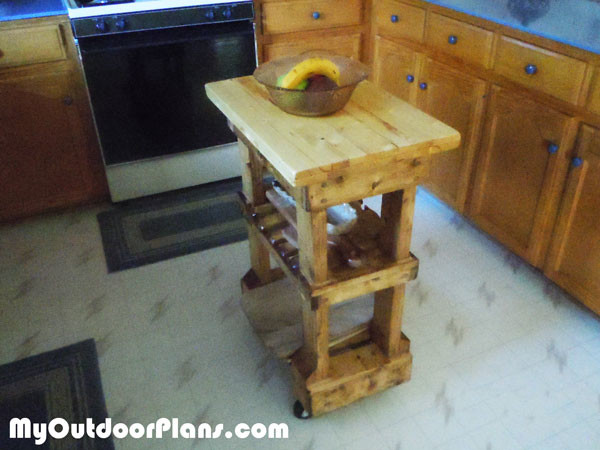 diy butcher block table myoutdoorplans free