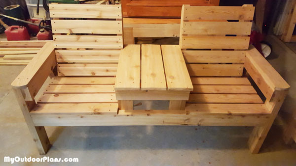 DIY-Double-Bench