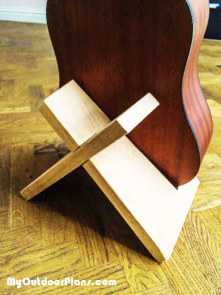 DIY Guitar Stand | MyOutdoorPlans | Free Woodworking Plans and Projects, DIY Shed, Wooden ...