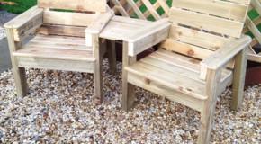 DIY Jack and Jill Chair Set