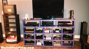 DIY Video Game Console Storage