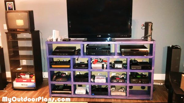 Ordinaire DIY Video Game Console Storage