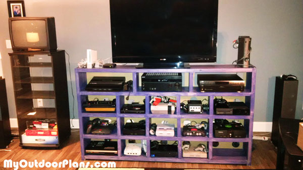 DIY Video Game Console Storage