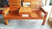 DIY Double Bench
