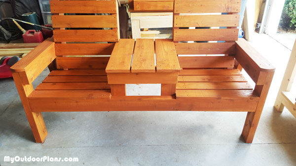 DIY Double Bench