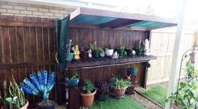 DIY Garden Work Bench
