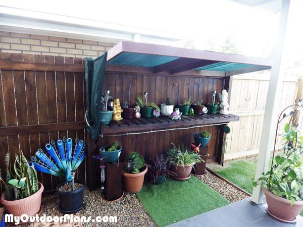 diy garden work bench myoutdoorplans free woodworking plans and
