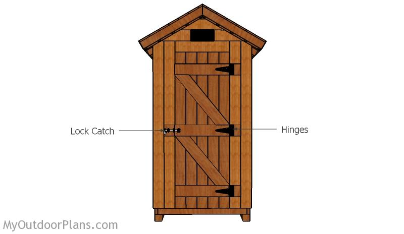 Smokehouse Door Plans