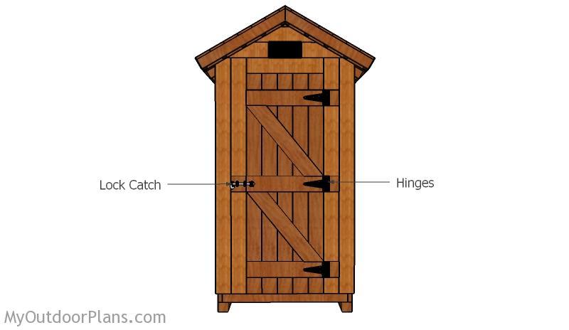 Smokehouse Door Plans