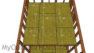 Fitting the loft floor