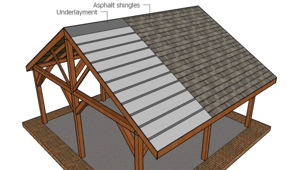 Fitting the roofing