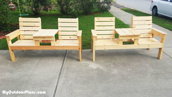 Diy Outdoor Bench With Back How To Build