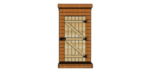 Outhouse Door Plans