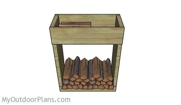 Indoor Firewood Holder Plans