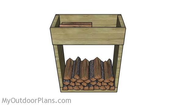 Indoor Firewood Rack Plans Myoutdoorplans Free