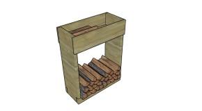 Indoor Firewood Rack Plans