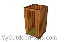 Making a 4x4 smokehouse