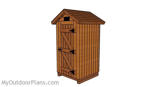 Smokehouse Plans   MyOutdoorPlans   Free Woodworking Plans ...