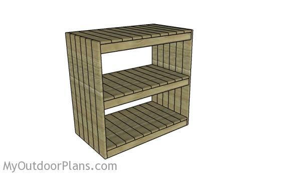 Storage Rack Plans Myoutdoorplans Free Woodworking